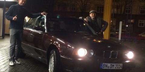 Das Auto ist da!